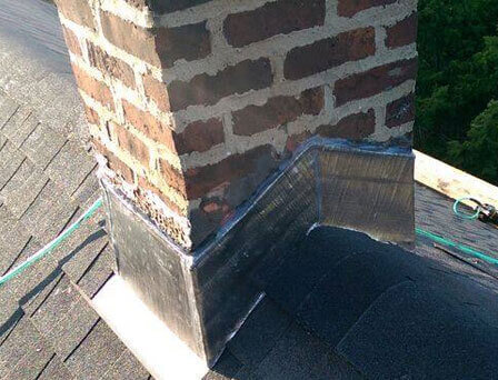Chimney Flashing Repair East Hampton NY